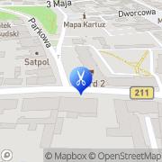 Mapa Trendy Kartuzy, Polska