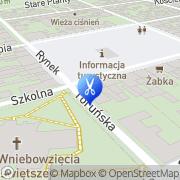 Mapa Fryzjerstwo Chełmno, Polska