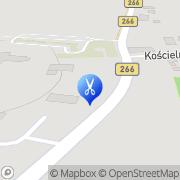 Mapa Fryzjerstwo Kramsk, Polska
