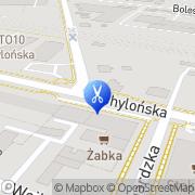 Mapa Fryzjerstwo Gdynia, Polska