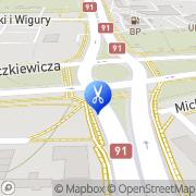 Mapa Gołaszewska A. Fryzjerstwo Toruń, Polska