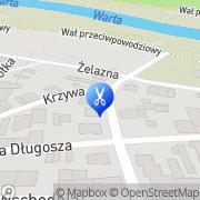 Mapa Pietrzak Teresa. Fryzjerstwo Koło, Polska