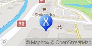 """Mapa """"Mariola"""" Salon Fryzjerski Mariola Świerczek Pruszcz Gdański, Polska"""