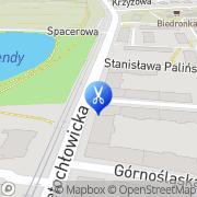 Mapa Gocol Ilona. Fryzjerstwo Bytom, Polska
