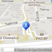 Mapa Fryzjerstwo Bielsko-Biała, Polska