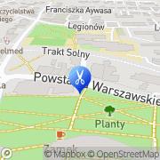 Mapa Fryzjerstwo Wielkie, Polska