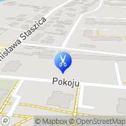 Mapa Fryzjerstwo Sochaczew, Polska