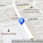 Mapa Gontarek Alicja. Fryzjerstwo Grójec, Polska