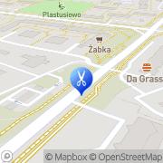 Mapa Studio 81 Warszawa, Polska