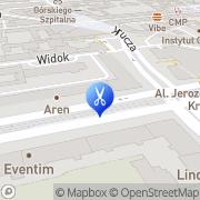 Map Hest S.j. Warsaw, Poland