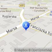 Mapa Margo Warszawa, Polska