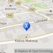 Mapa Źródło Piękna Katarzyna Puc Warka, Polska