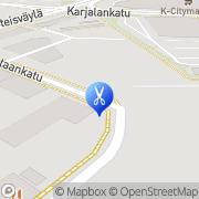 Kartta Kaivopuiston Kynsitudio Ky Rauma, Suomi
