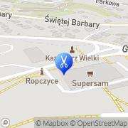 Mapa Fryzjerstwo Ropczyce, Polska