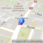Mapa Mróz Jan. Fryzjerstwo Lipsko, Polska