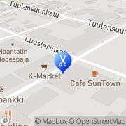 Kartta Kuunsini Naantali, Suomi