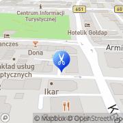 Mapa Gogo Gołdap, Polska