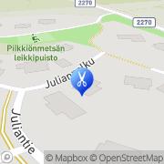 Kartta Kauneus- ja Kynsistudio Valkea Kuulas Piikkiö, Suomi