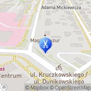Mapa Fryzjerstwo Lublin, Polska