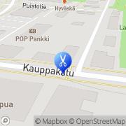Kartta Kauneushoitola Kalliosaari Sirkka Lapua, Suomi