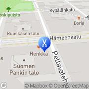 Kartta Jalkahoitola Krigsman Katja Tampere, Suomi