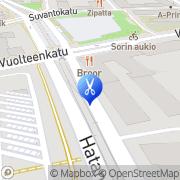 Kartta Lävistykset Susanna Halmela Tampere, Suomi