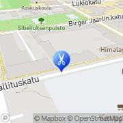Kartta Kaunis Mariana Hämeenlinna, Suomi