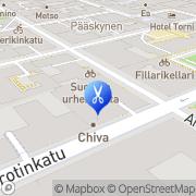 Kartta Chiva Thai Spa Oy Helsinki, Suomi