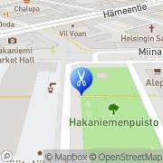 Kartta Kauneushoitola Päivikki Helsinki, Suomi