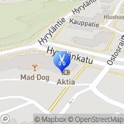 Kartta K2K Hius- ja Kauneussalonki Oy Tuusula, Suomi