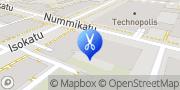 Kartta Hius ja Kauneus Double5 Oulu, Suomi