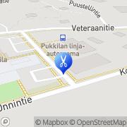 Kartta SkySpa Sirpa Jaatinen Pukkila, Suomi