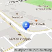 Kartta KauneusTyrni Karttula, Suomi