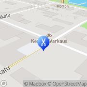 Kartta Kauneushoitola Sarianna Varkaus, Suomi