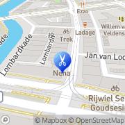 Kaart Kapsalon , Beautysalon Nena Rotterdam, Nederland