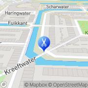 Kaart Menataupe Opleidingsinstituut Barendrecht, Nederland