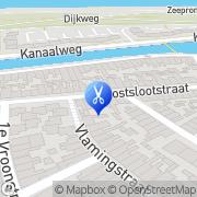 Kaart Cynthia Schoonheidssalon Den Helder, Nederland