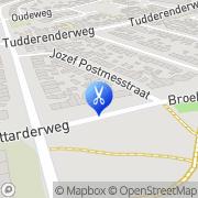 Kaart Kapsalon Wil Smeets Sittard, Nederland