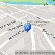 Kaart Nailpoint Nagelstudio Deventer, Nederland