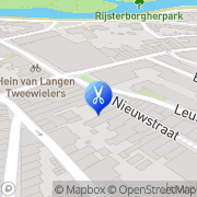 Kaart Knip & Go Kappers B V Deventer, Nederland