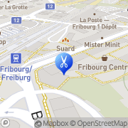 Carte de Coiffure creation Marlene Fribourg, Suisse