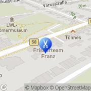Karte Friseurteam Inh. Christiane Franz Haltern am See, Deutschland