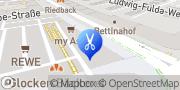 Karte HairExpress Frankfurt am Main, Deutschland