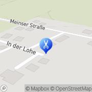 Karte Mobiler Hundefriseur Hülsede, Deutschland