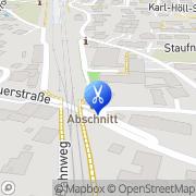 Karte AB-Schnitt Inh Fink-Kohler Herta Lauterach, Österreich