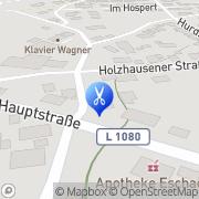 Karte Claudias Friseurstüble Eschach, Deutschland