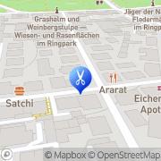 Karte Kosmetikpraxis Stapf Würzburg, Deutschland