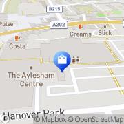Map Poundland Peckham, United Kingdom