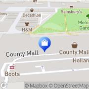 Map JD Sports Crawley, United Kingdom