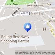 Map JD Sports Ealing, United Kingdom